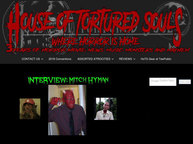Mitch Chats About the Bubba Movie's Success & Satan on House of Tortured Souls