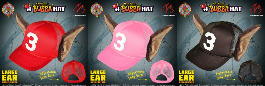 Mitch Hyman's #BubbaHat