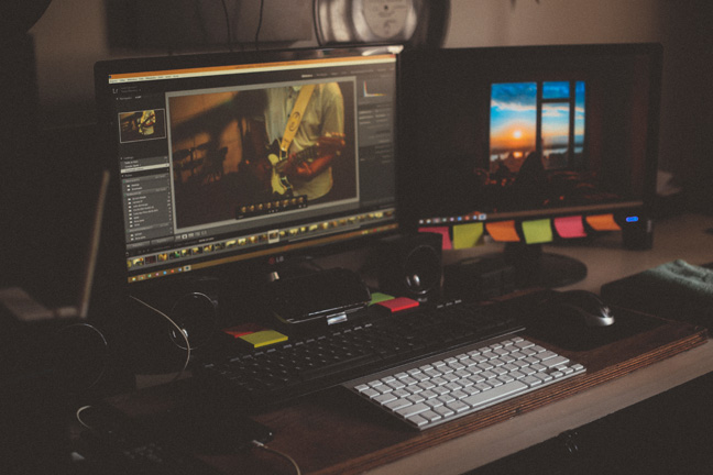 Video production set-up photo by João Silas on Unsplash