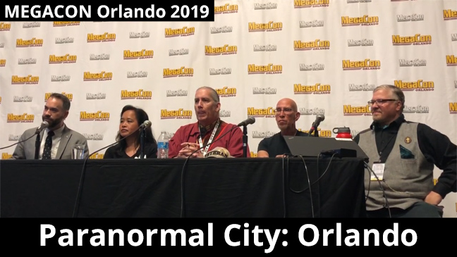 Paranormal City: Orlando panel at MEGACON Orlando 2019