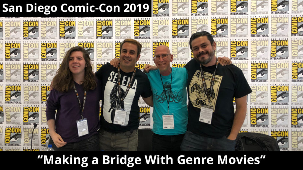 """Making a Bridge With Genre Movies"" Panel @ San Diego Comic-Con 2019"